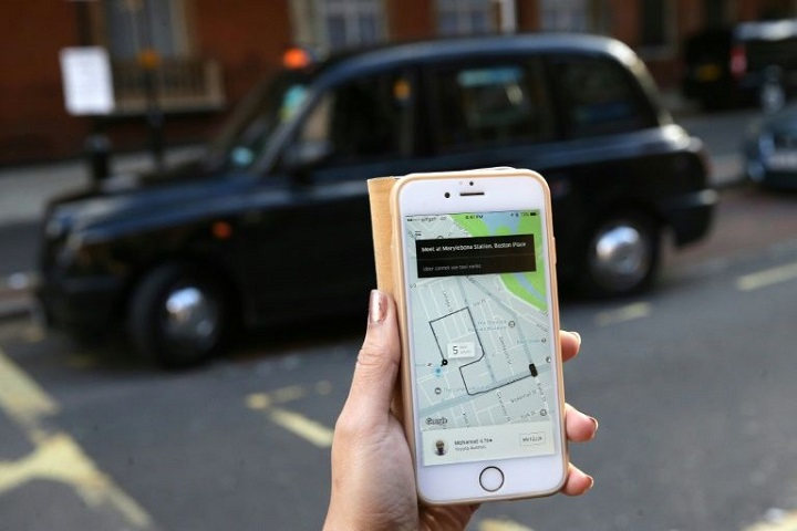 عمل أوبر في لندن