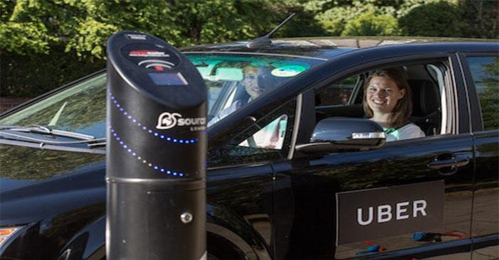 سيارة أوبر كهربائية