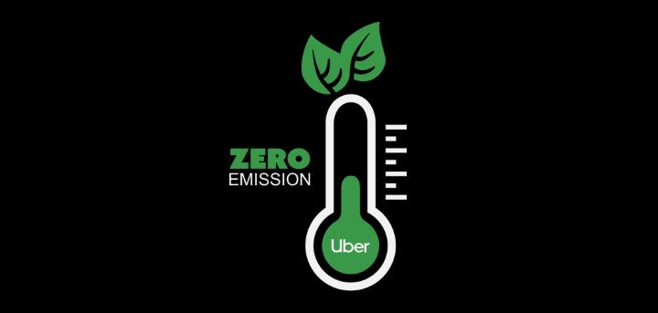 أوبر صفر انبعاثات