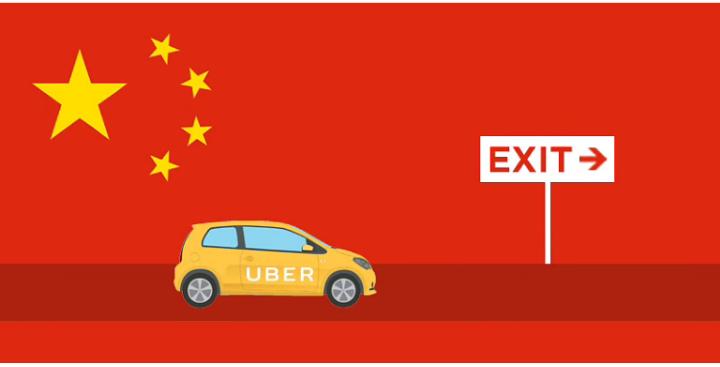 أوبر في الصين