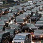 إضرابات واحتجاجات سائقي أوبر في بروكسل بعد قرار طرد الخدمة من المدينة